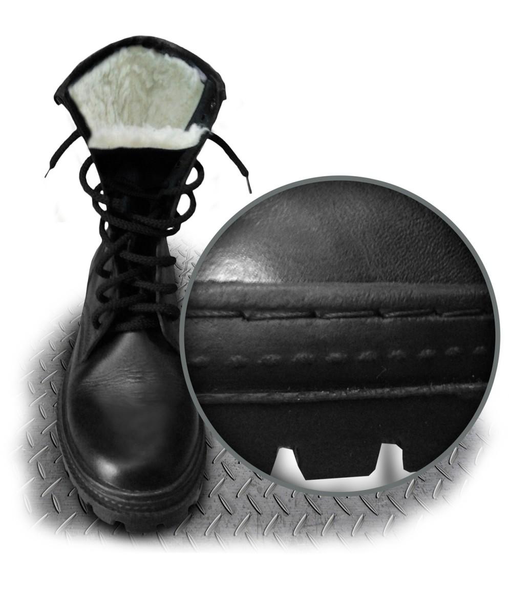 Ботинки с высокими берцами Полигон (утепленные)