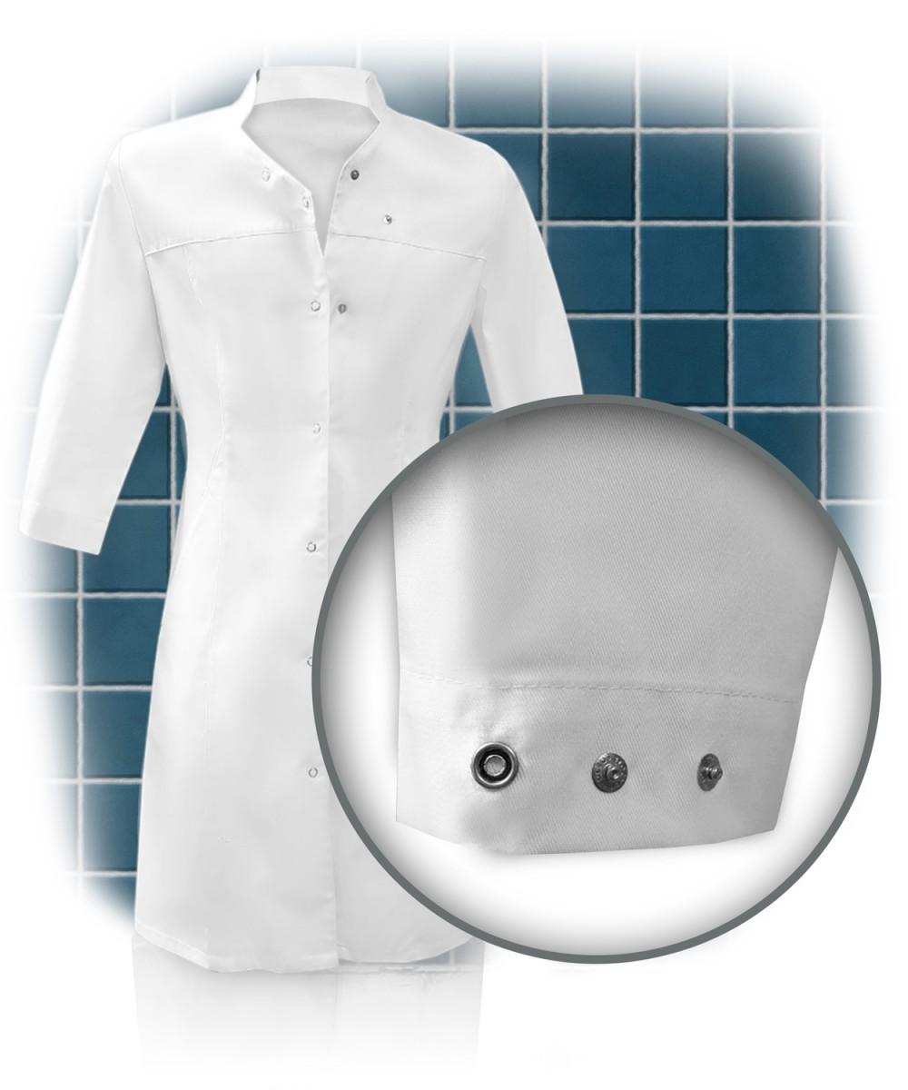 Халат «доктор» женский на кнопках