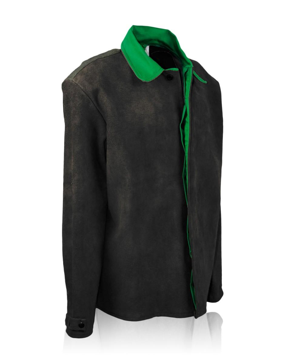 Костюм сварщика брезентовый с кожаными накладками