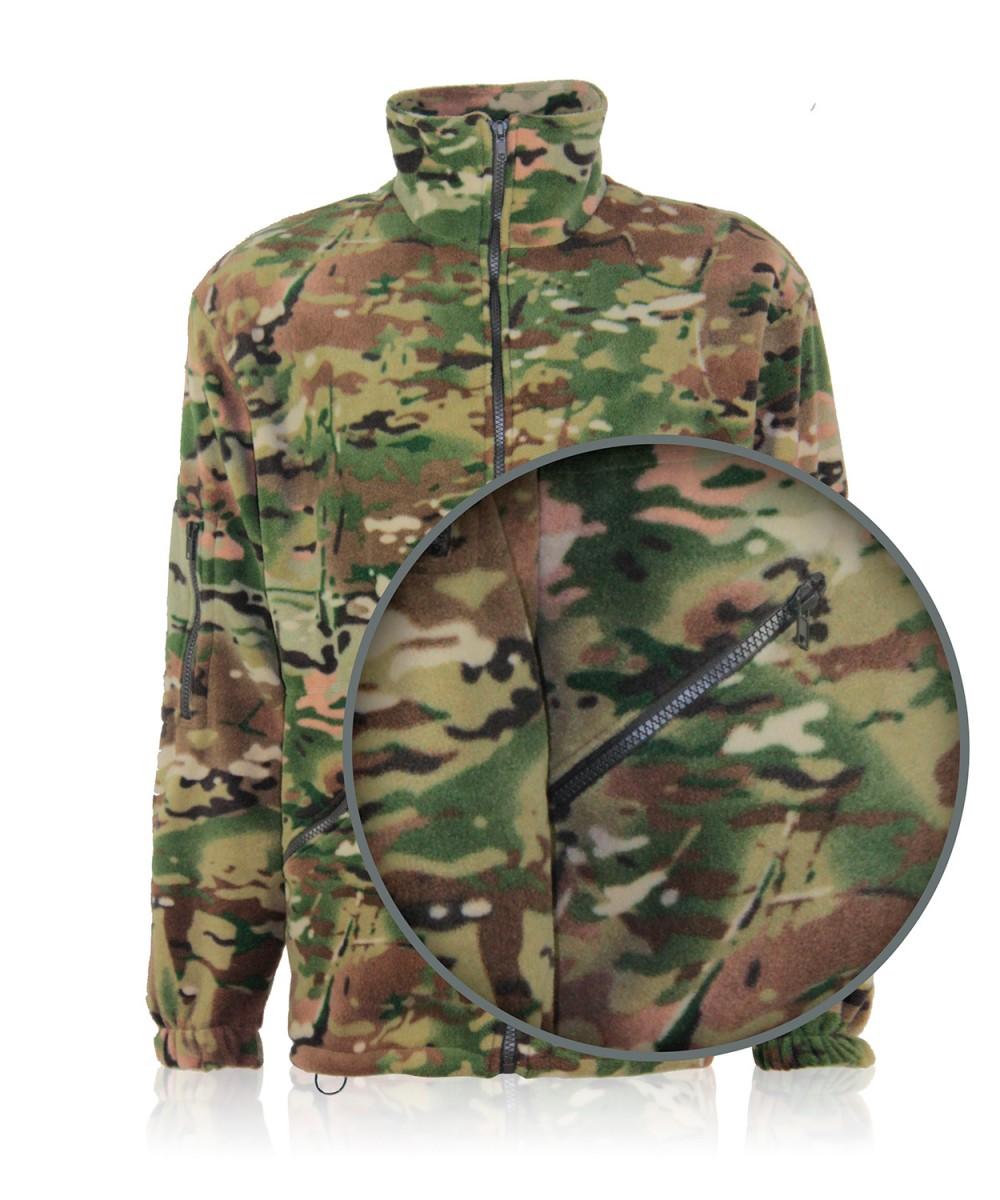 Куртка флисовая камуфлированная «MultiCAM»