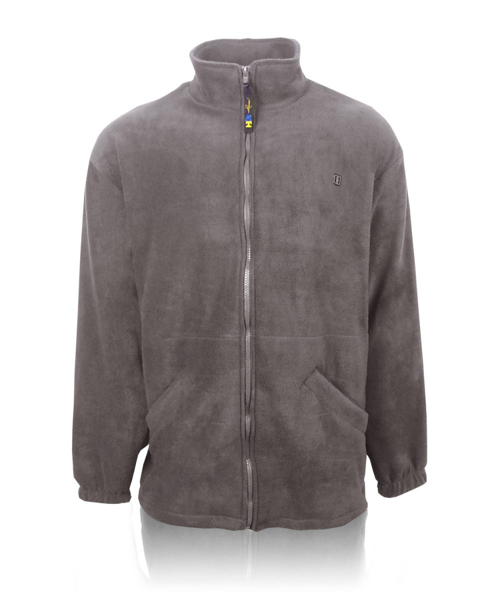 Куртка олимпийка флисовая т.серая