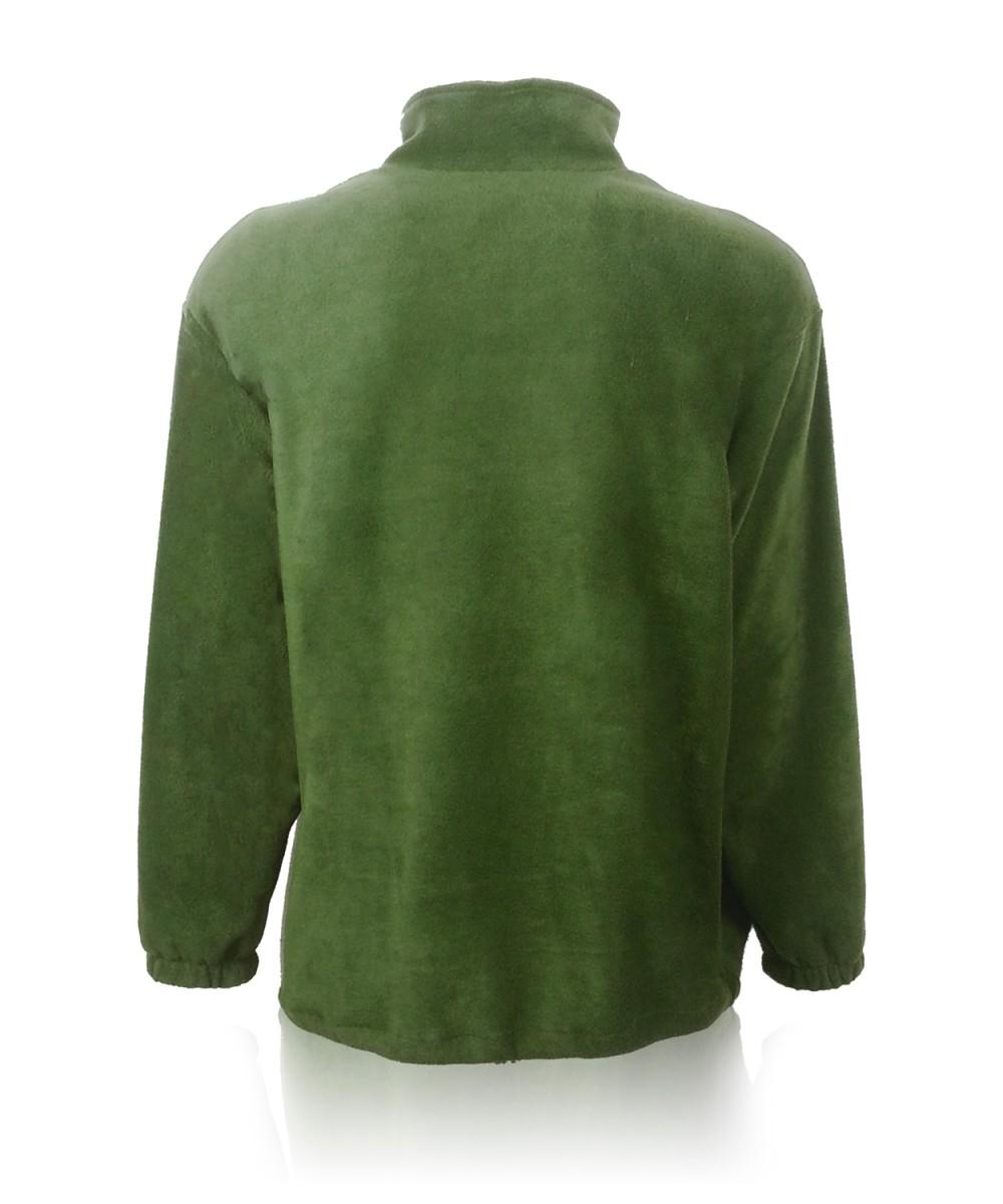 Куртка-олимпийка флисовая оливковая