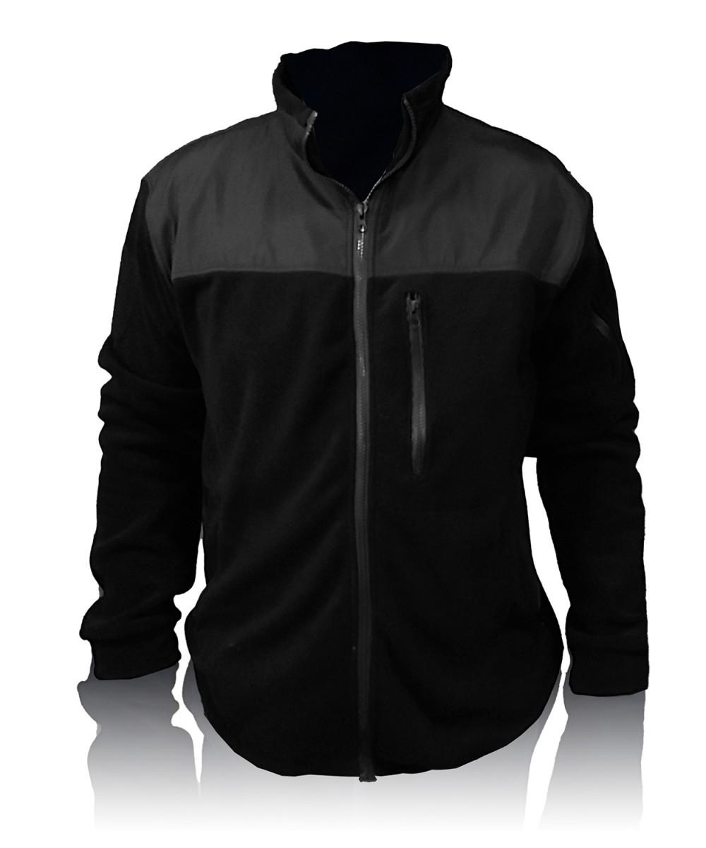 """Куртка флисовая """"Полиция"""" черная"""
