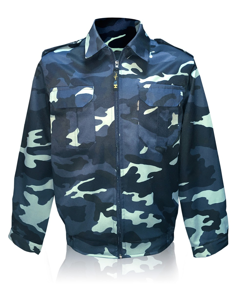 Куртка «ОХРАНА-ЛЮКС» на молнии «БЕЛАЯ НОЧЬ»