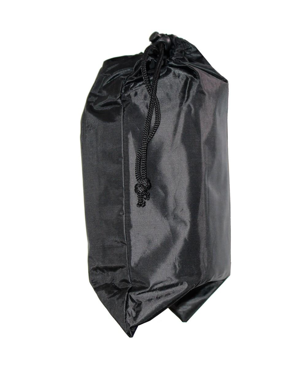 Плащ-накидка черная