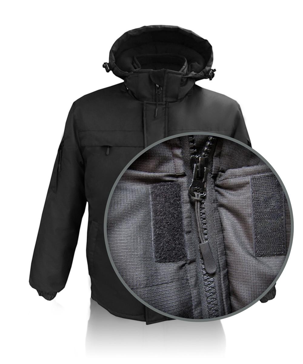 """Куртка зимняя """"Конкорд"""" чёрная"""