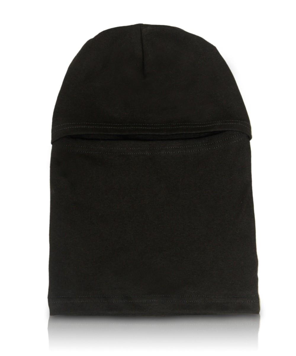 Шапка-маска трикотажная черная