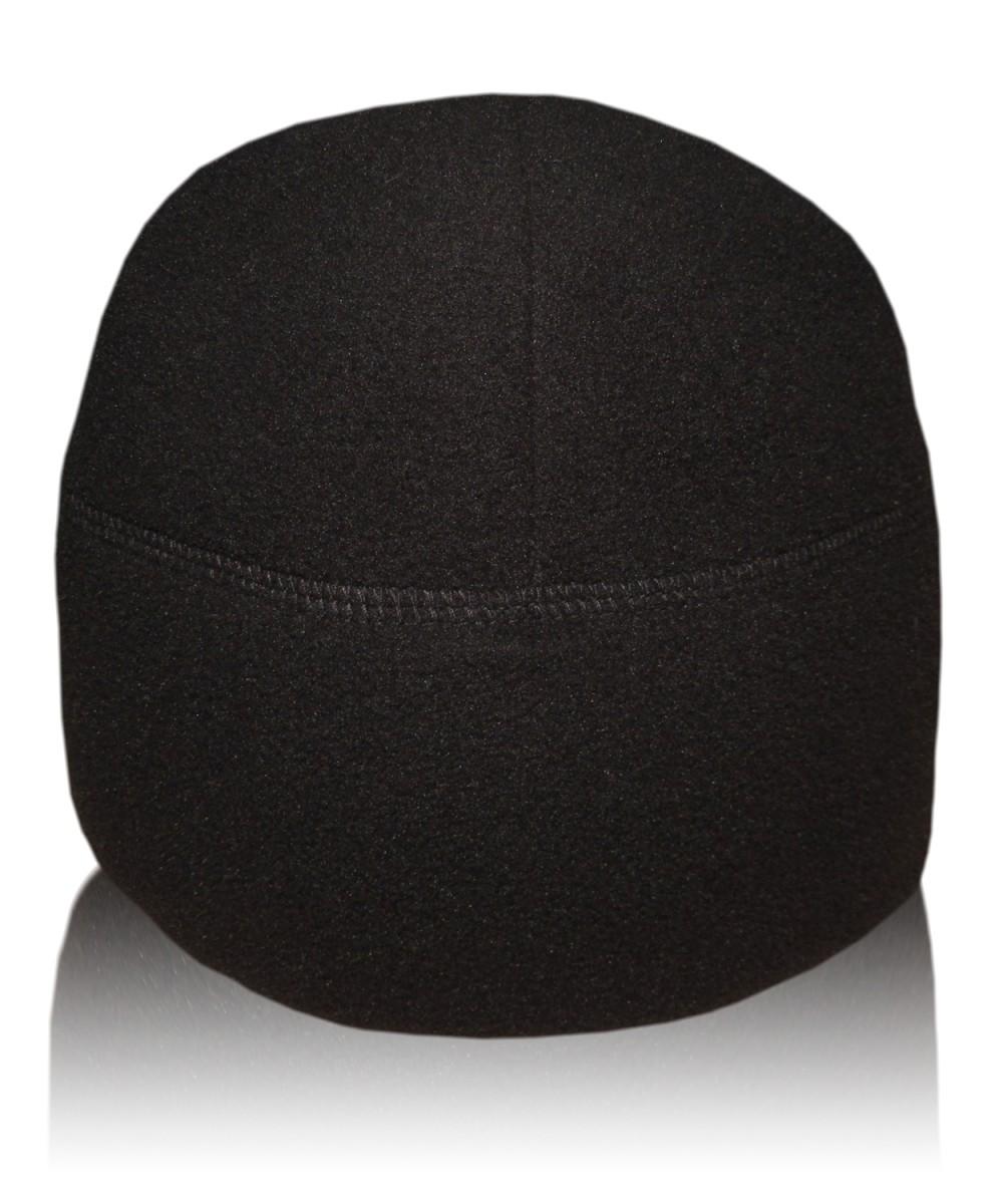 Шапка флисовая черная