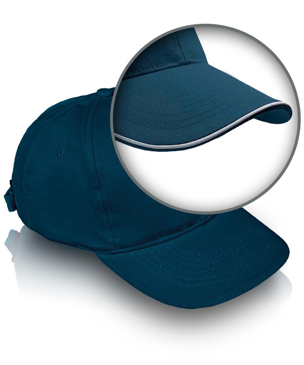 Бейсболка с кантом синяя (цену уточняйте у менеджеров)