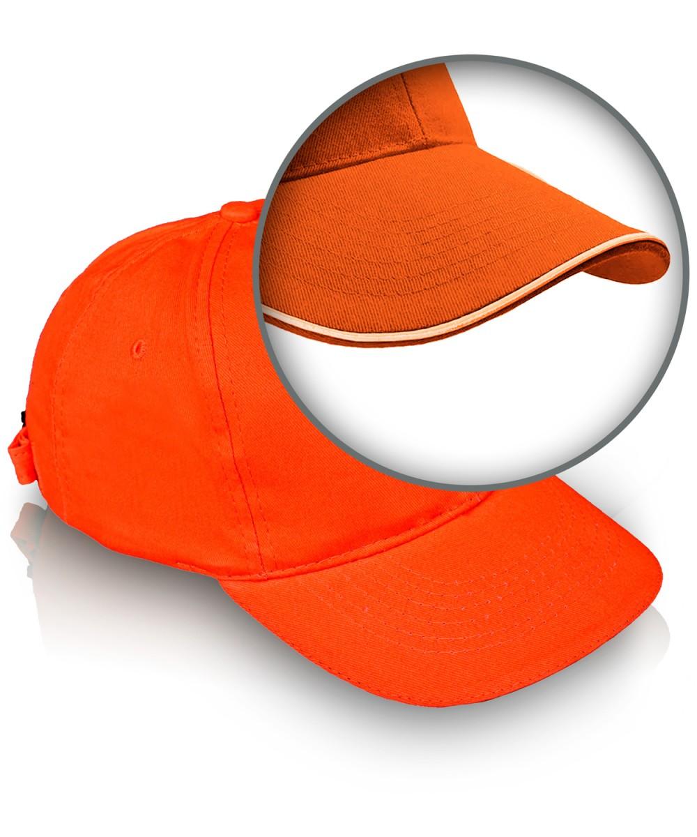 Бейсболка с кантом красная (цену уточняйте у менеджеров)