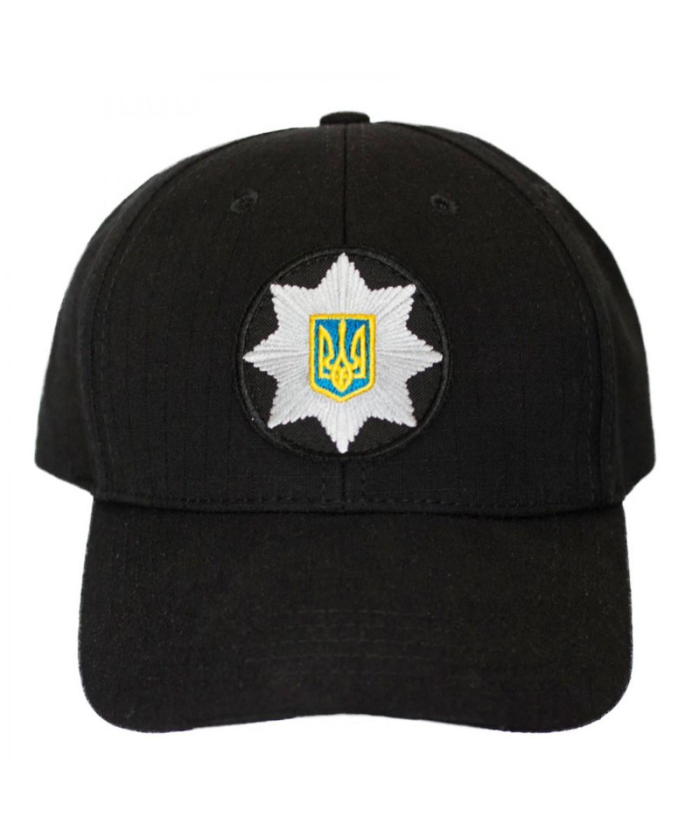 "Бейсболка ""ПОЛИЦИЯ"" с кокардой"
