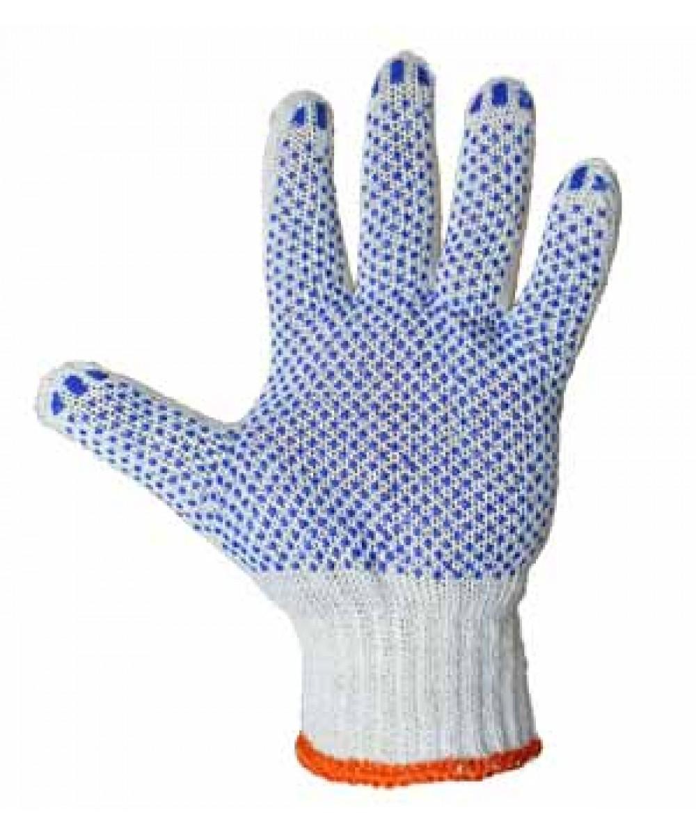 Перчатки трикотажные с ПВХ точкой (3 нити)