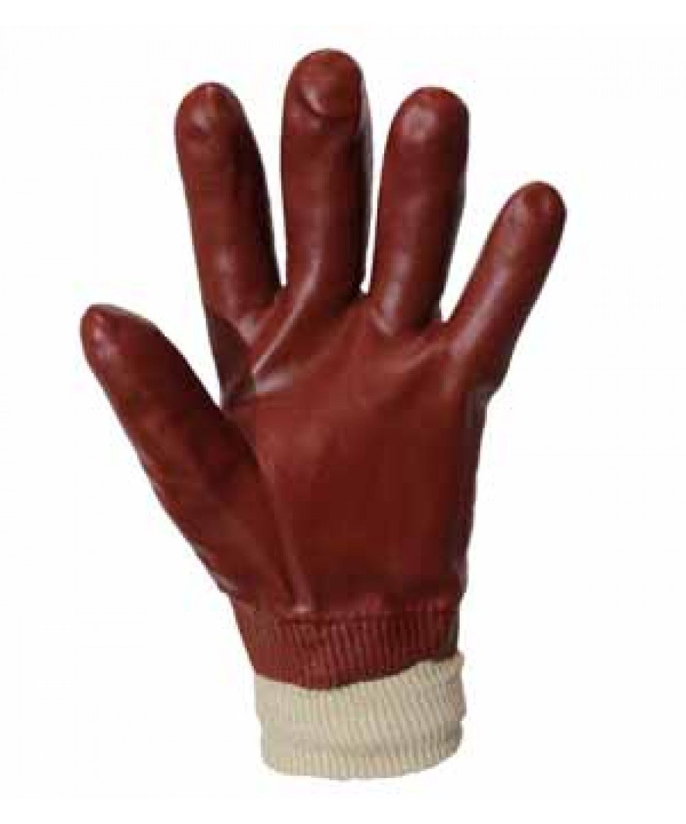 Перчатки МБС с манжетом (трикотаж покрытый ПВХ)