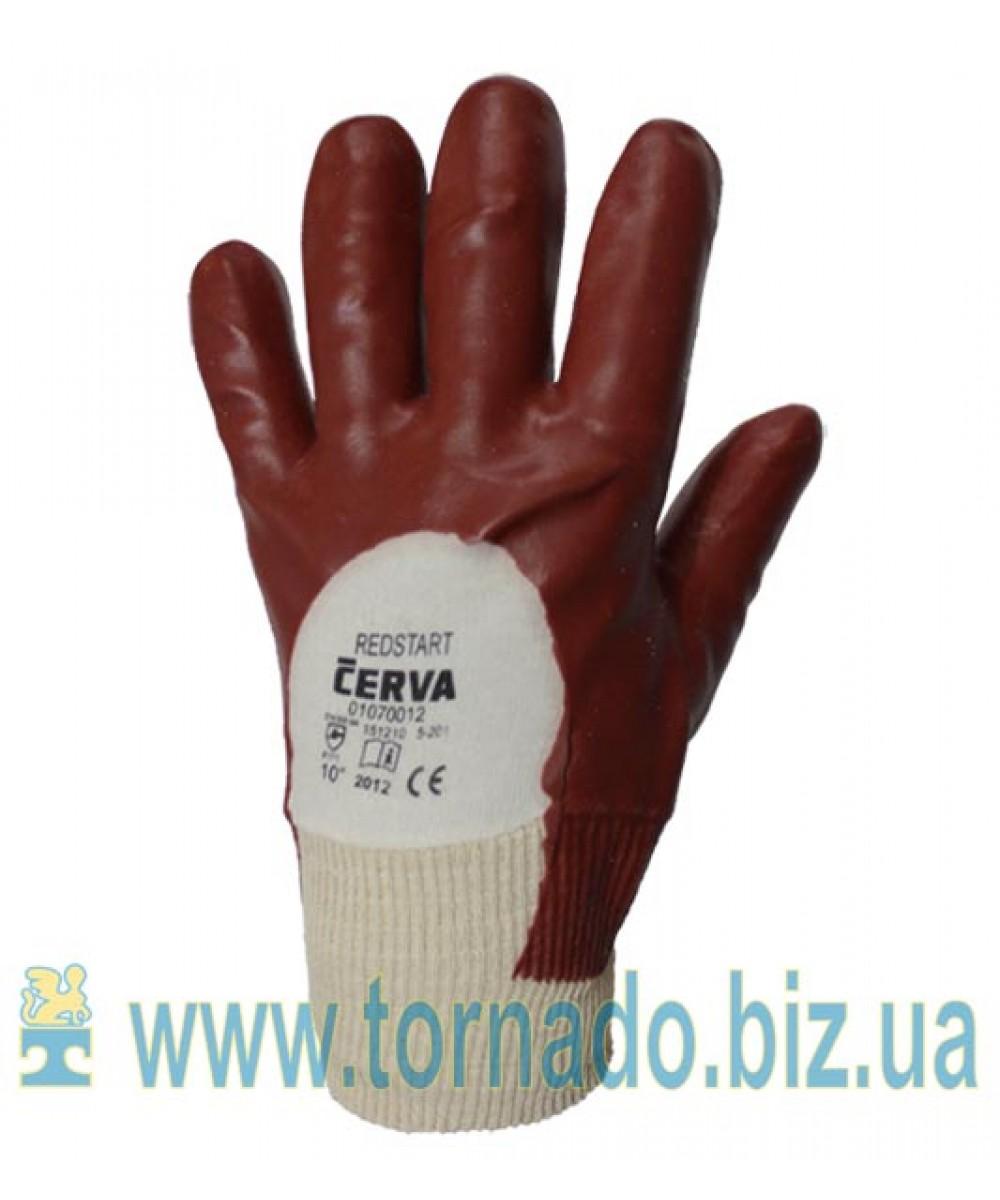 Перчатки МБС с манжетом (трикотаж покрытый ПВХ) (цену уточняйте у менеджеров)