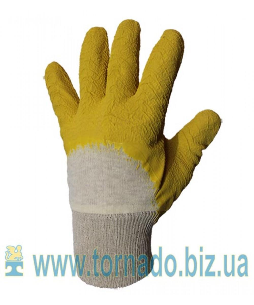 Перчатки TWITE с рельефным латексом