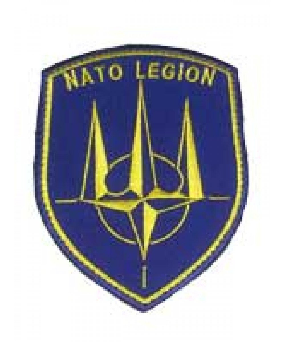Шеврон нарукавный «NATO LEGION»