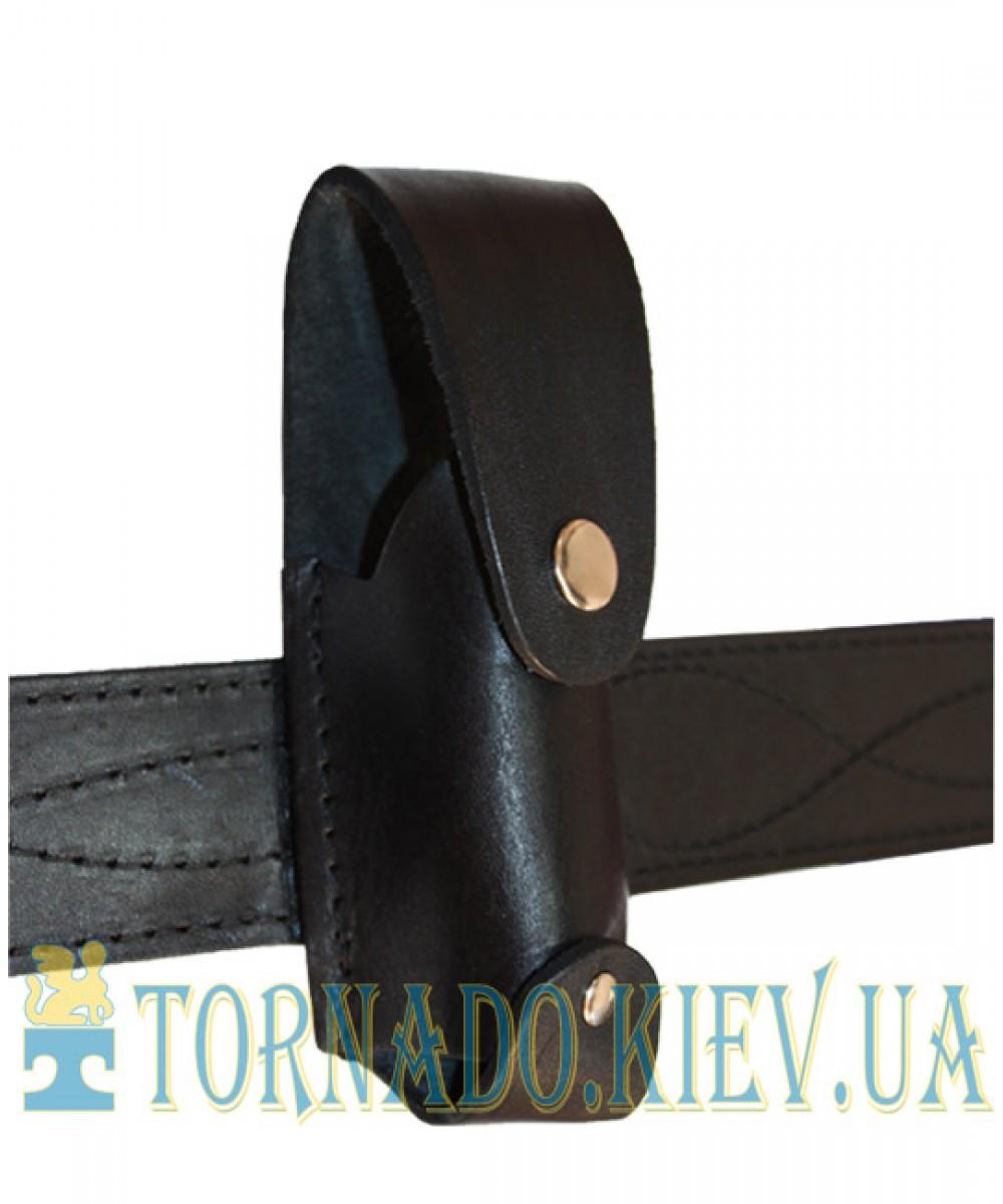 Чехол поясной кожаный под газовый баллончик ТЕРЕН-4