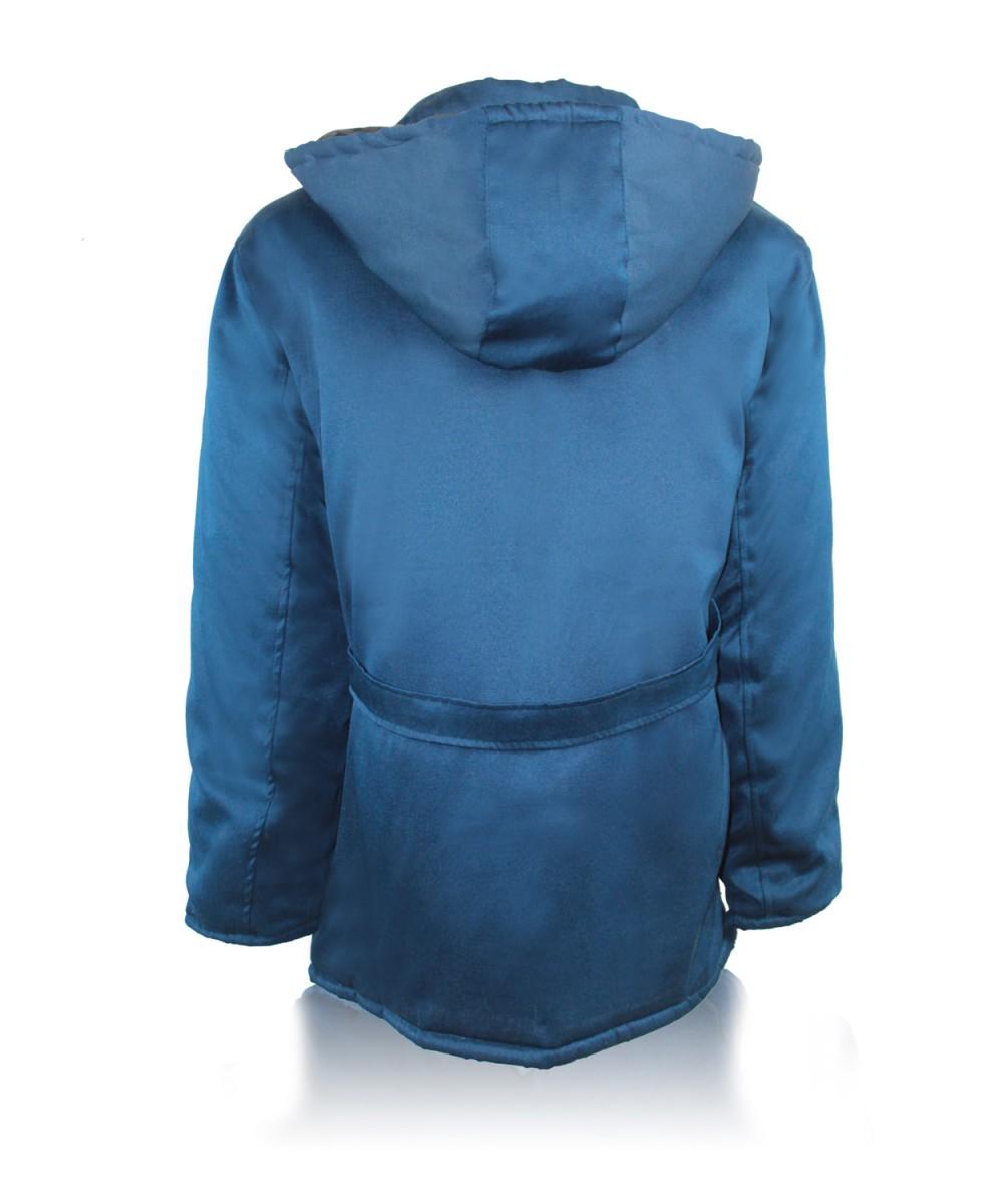 Куртка утепленная «МОДЕЛЬНАЯ» темно-синяя