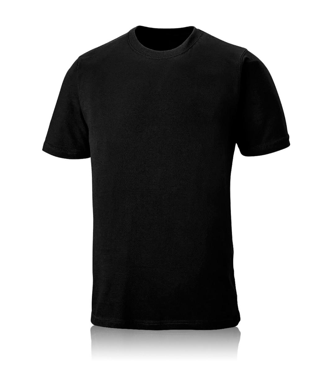 Футболка черная плотность 130-145