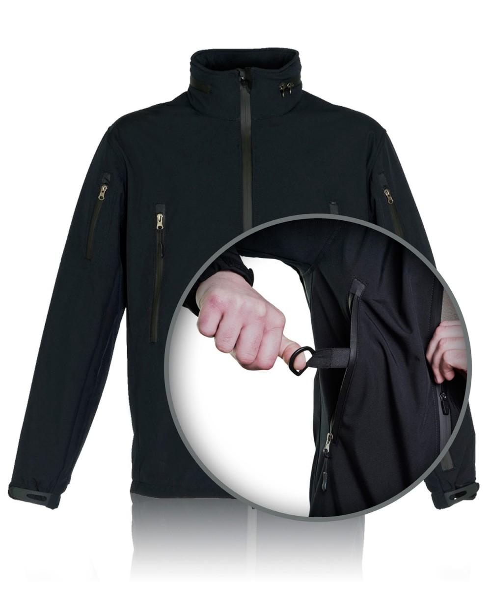 """Куртка тактическая """"СОФТШЕЛЛ"""" т.синяя"""