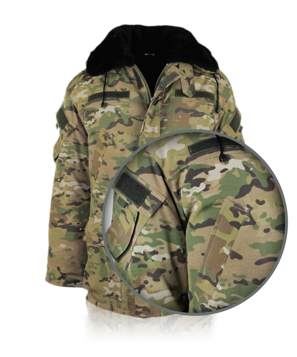 Куртка утепленная «Британка» камуфлированная «MultiCAM»