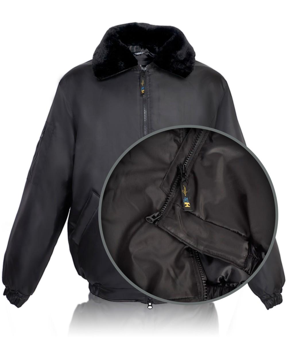 Куртка «ПИЛОТ» черная