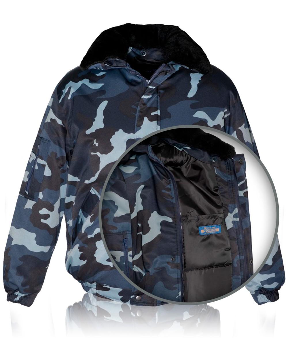 Куртка «ПИЛОТ» камуфлированная «БЕЛАЯ НОЧЬ»