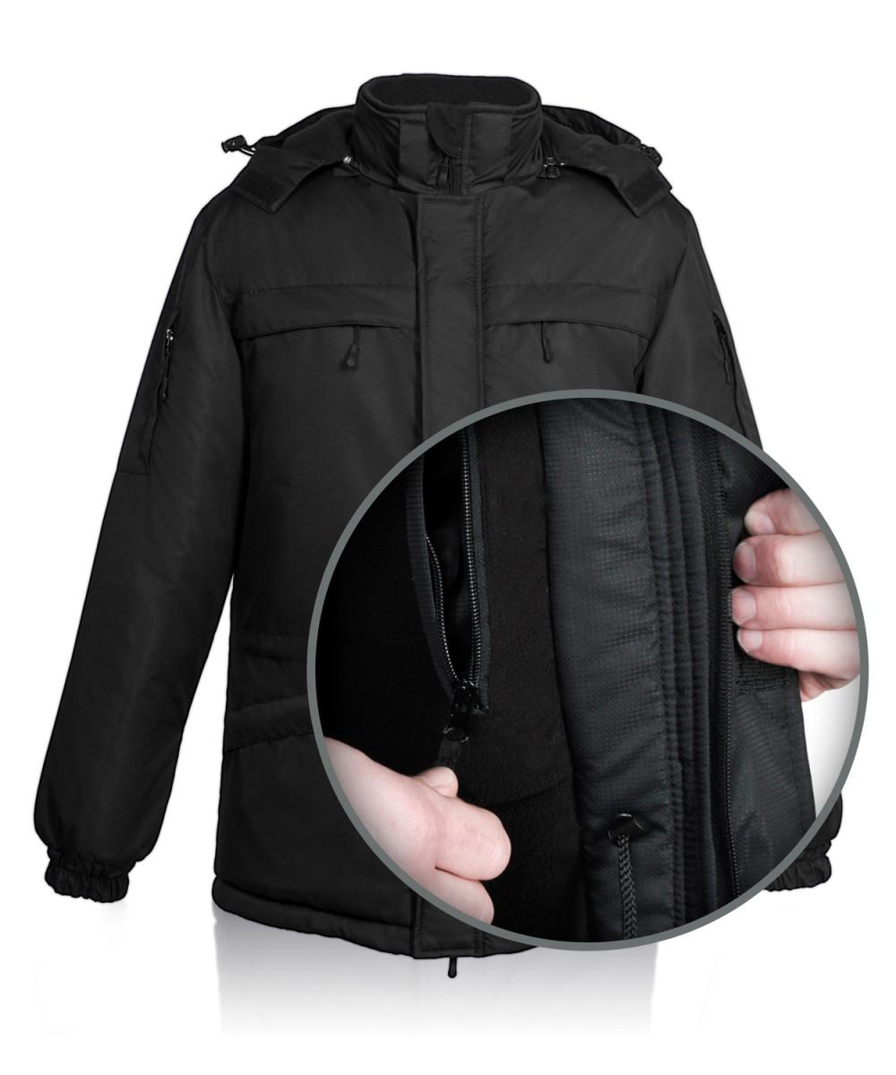 """Куртка зимняя """"Штурман М"""" чёрная"""