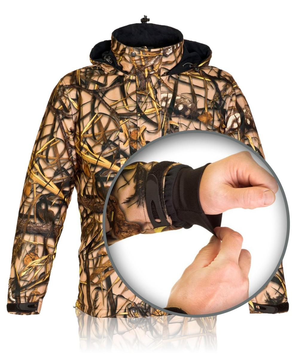 """Куртка охотничья с мембраной камуфл. """"Камыш"""""""